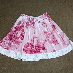 Anthropologie Odille Handkerchief Skirt size 4
